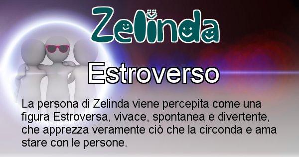 Zelinda - Come appari agli altri Zelinda