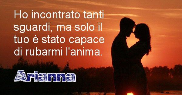 Arianna - Dedica d'amore a nome di Arianna