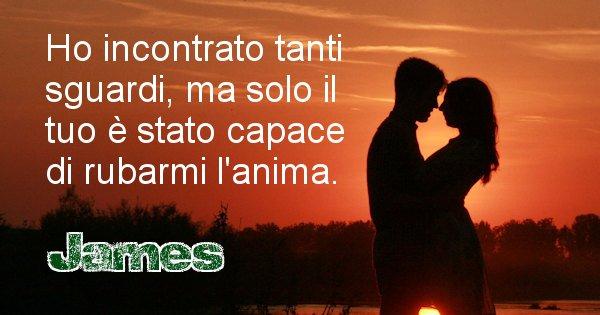 James - Dedica d'amore a nome di James