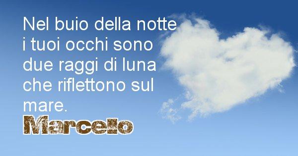 Marcello - Dedica d'amore a nome di Marcello