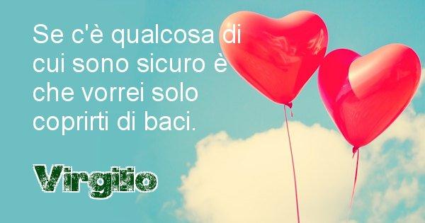 Virgilio - Dedica d'amore a nome di Virgilio