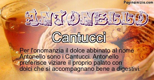 Antonello - Dolce associato al nome Antonello