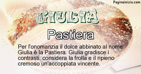 Giulia - Dolce associato al nome Giulia