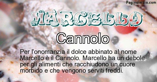 Marcello - Dolce associato al nome Marcello