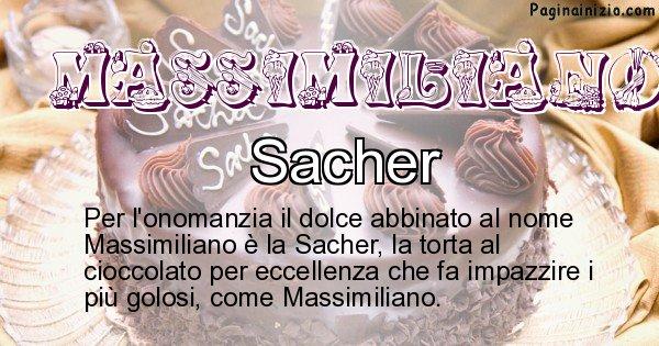 Massimiliano - Dolce associato al nome Massimiliano
