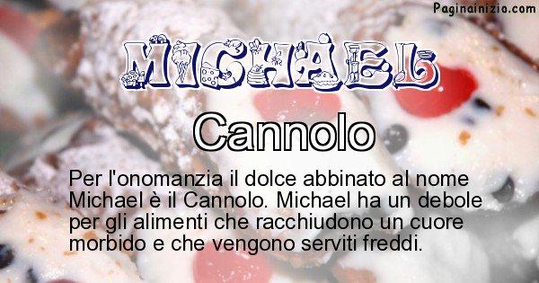 Michael - Dolce associato al nome Michael