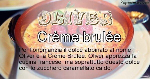 Oliver - Dolce associato al nome Oliver