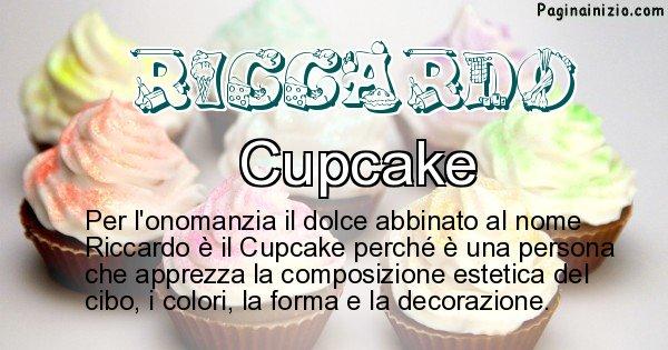 Riccardo - Dolce associato al nome Riccardo