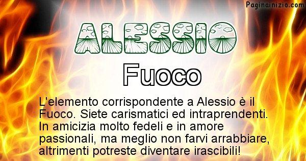 Alessio - Elemento naturale per Alessio