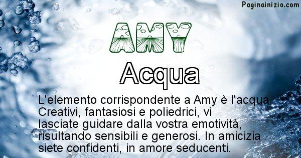 Amy - Elemento naturale per Amy