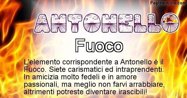 Antonello - Elemento naturale per Antonello