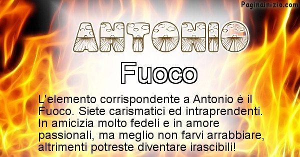 Antonio - Elemento naturale per Antonio