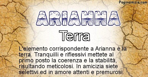 Arianna - Elemento naturale per Arianna