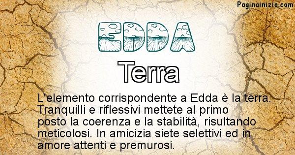 Edda - Elemento naturale per Edda