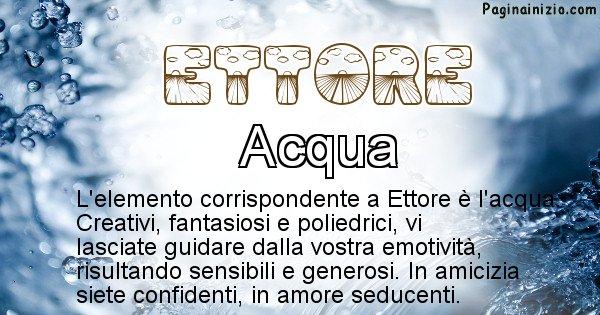 Ettore - Elemento naturale per Ettore