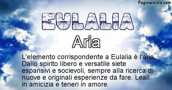 Eulalia - Elemento naturale per Eulalia