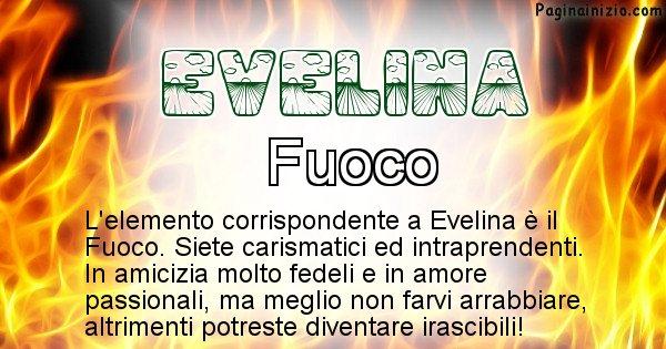 Evelina - Elemento naturale per Evelina