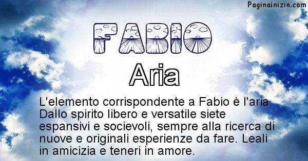 Fabio - Elemento naturale per Fabio