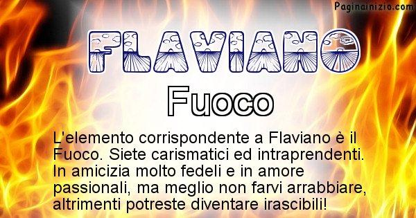 Flaviano - Elemento naturale per Flaviano