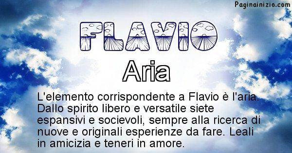 Flavio - Elemento naturale per Flavio