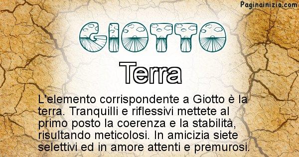 Giotto - Elemento naturale per Giotto