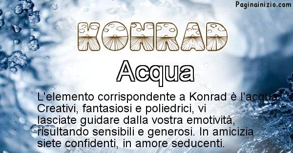 Konrad - Elemento naturale per Konrad