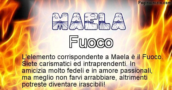 Maela - Elemento naturale per Maela