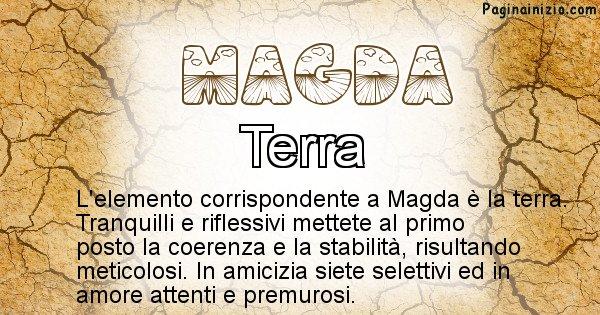 Magda - Elemento naturale per Magda