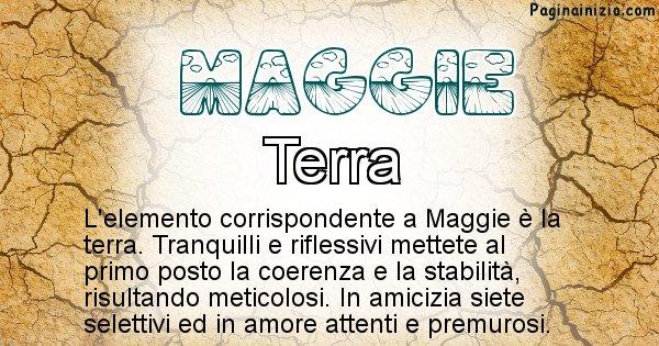 Maggie - Elemento naturale per Maggie