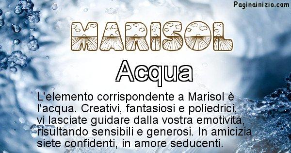 Marisol - Elemento naturale per Marisol