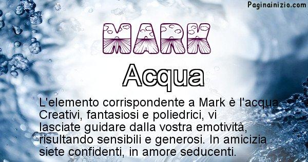 Mark - Elemento naturale per Mark