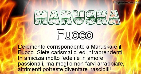 Maruska - Elemento naturale per Maruska
