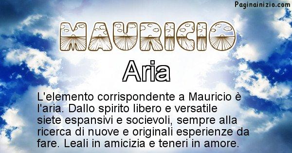 Mauricio - Elemento naturale per Mauricio