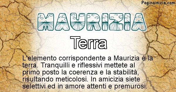 Maurizia - Elemento naturale per Maurizia