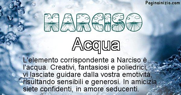 Narciso - Elemento naturale per Narciso