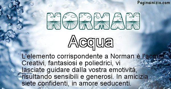 Norman - Elemento naturale per Norman