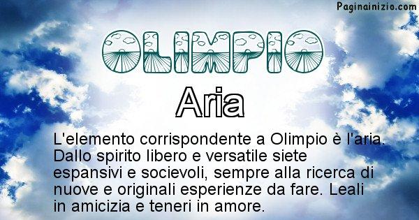 Olimpio - Elemento naturale per Olimpio