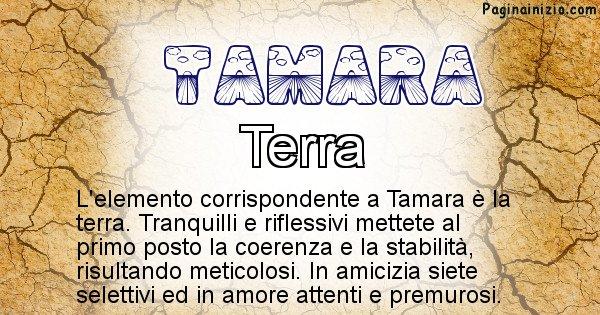 Tamara - Elemento naturale per Tamara