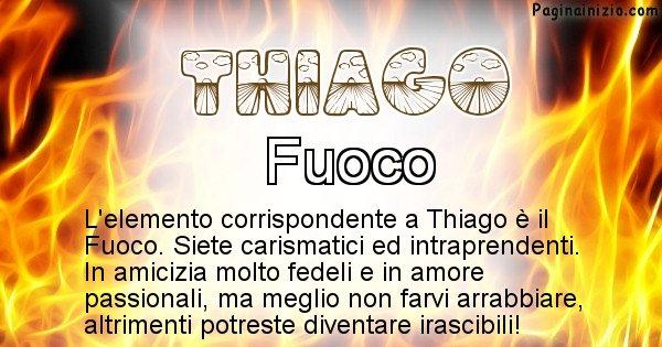 Thiago - Elemento naturale per Thiago