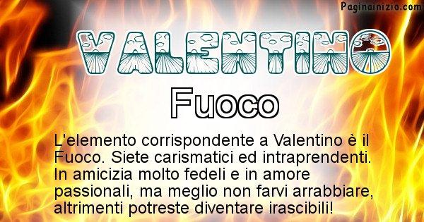 Valentino - Elemento naturale per Valentino