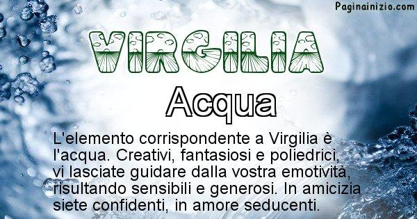 Virgilia - Elemento naturale per Virgilia