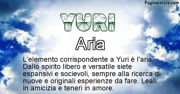 Yuri - Elemento naturale per Yuri