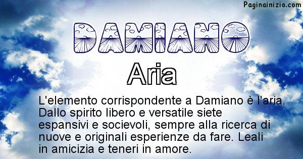 Damiano - Elemento naturale associato al cognome Damiano