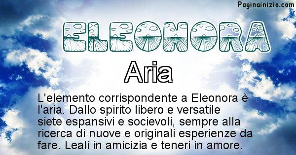 Eleonora - Elemento naturale associato al cognome Eleonora