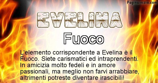 Evelina - Elemento naturale associato al cognome Evelina