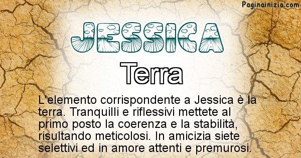 Jessica - Elemento naturale associato al cognome Jessica