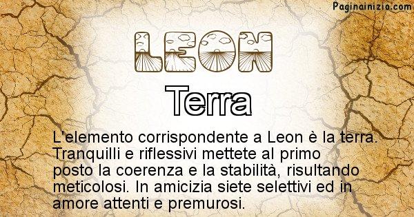 Leon - Elemento naturale associato al cognome Leon