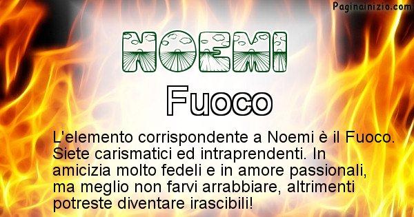 Noemi - Elemento naturale associato al cognome Noemi