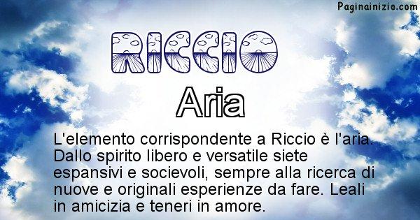 Riccio - Elemento naturale associato al cognome Riccio