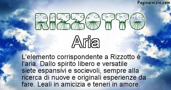 Rizzotto - Elemento naturale associato al cognome Rizzotto